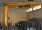 Electrically rotated jib cranes 360° 3 tons